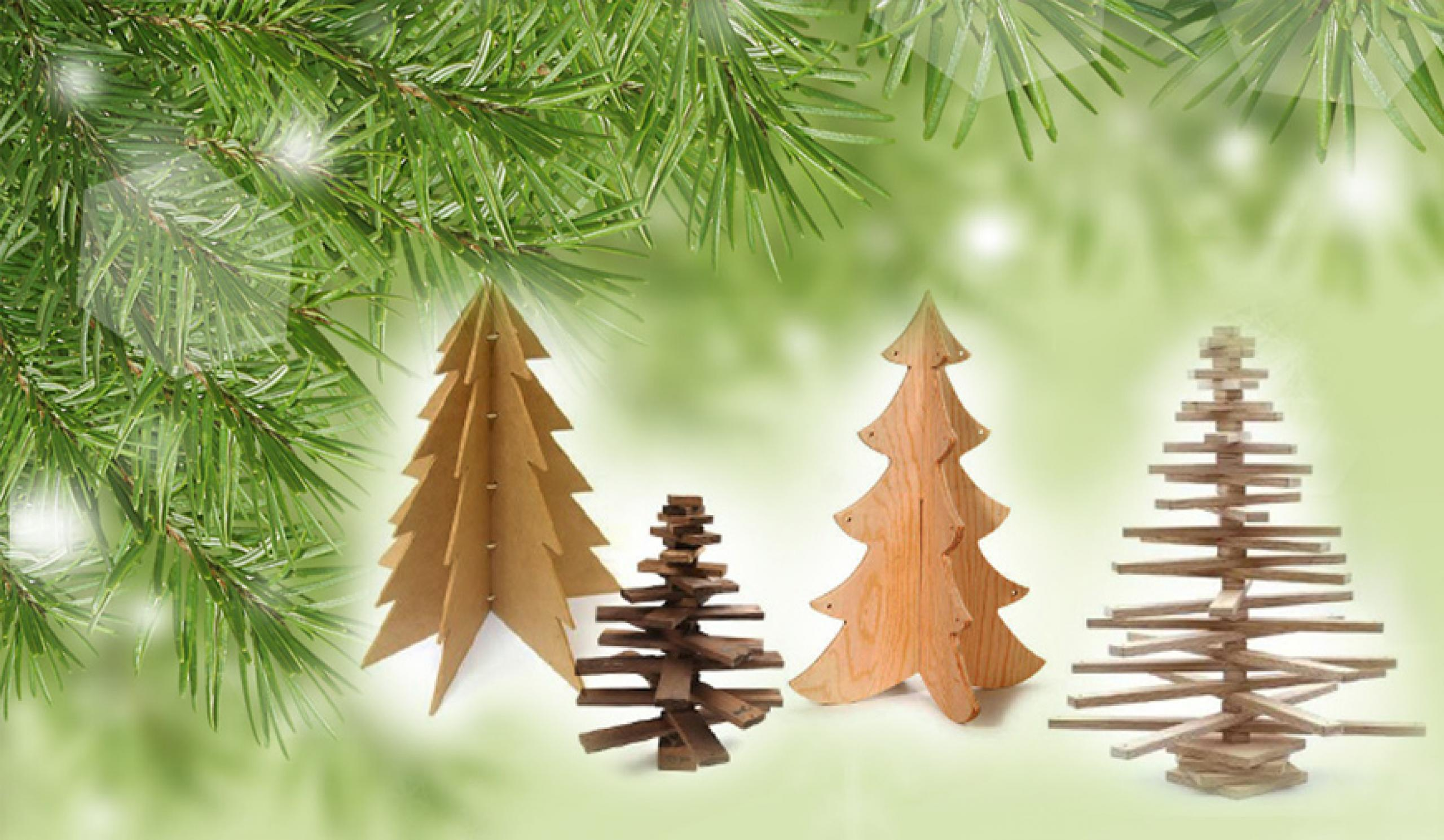 How to make a wooden Christmas tree