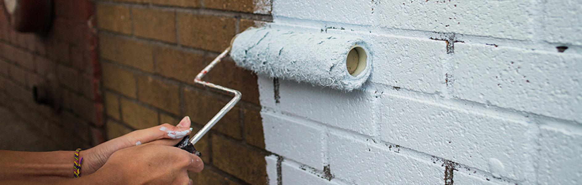How To Paint Exterior Walls