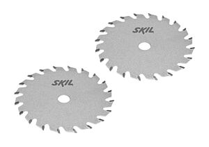 SKIL Carbide-tipped saw blade set (2 pcs)